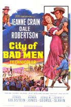 City of Bad Men 1953 DVD - Jeanne Crain / Dale Robertson